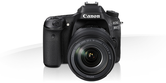 Canon EOS 80D -Specifications - EOS Digital SLR and Compact System