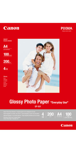 Canon Everyday Use Glossy Photo Paper GP-501 - A4, 4x6