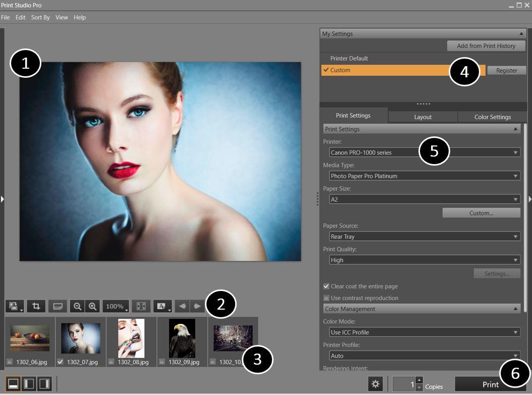 Print Studio Pro - PIXMA Professional Photo Printers - Canon Cyprus